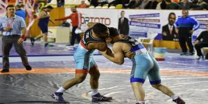 9. Uluslararası Hüseyin Akbaş Güreş Turnuvası'nda Türkiye Şampiyon