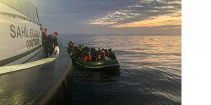 47 düzensiz göçmen yakalandı
