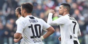 Juventus Ronaldo'nun golleriyle kazandı