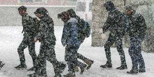 Yoğun kar ve çığ uyarısı