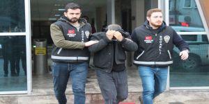 Evlilik yıldönümü için büfeden alkol çalan şahıs tutuklandı