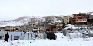 Suriyeli mültecilerin kış çilesi
