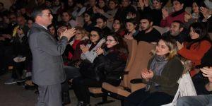 Recep Dursun'un tiyatro keyfi