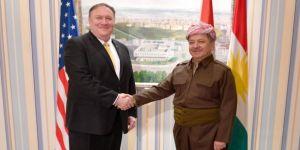 Pompeo, Barzani ile görüştü