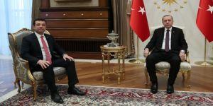 Erdoğan, İmamoğlu'nu kabul etti