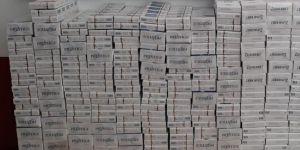 2 bin 120 paket kaçak sigara ele geçirildi
