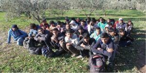 97 mülteci yakalandı