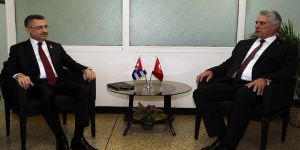 Oktay, Küba Devlet Başkanı Canel ile görüştü