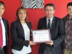 Vali Topaca'dan başkan Toltar'a veda ziyareti
