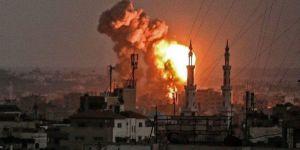 İsrail savaş uçakları Gazze'ye saldırdı