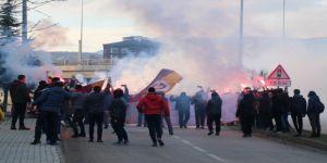 Galatasaray, Bolu'da coşkuyla karşılandı