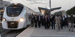 Senegal'in tek aktif demir yolu hattı açıldı