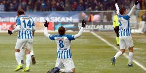 Erzurumspor ikinci yarıdan umutlu