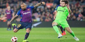 Barcelona, Kral Kupası'nda çeyrek finalde