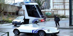 Polis aracı tasarımıyla dikkat çekti