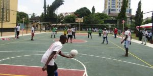TİKA'dan Tanzanyalı öğrencilere spor tesisi