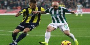 Spor Toto Süper Lig: Bursaspor: 0 - Fenerbahçe: 1 (İlk yarı)