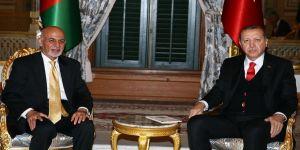 Erdoğan'dan Gani'ye taziye mesajı
