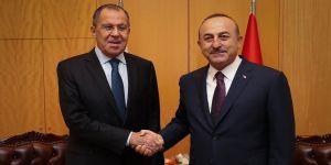 Çavuşoğlu ile Lavrov telefonda görüştü