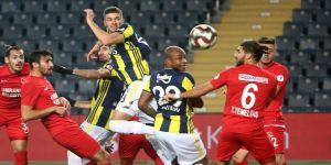 Fenerbahçe, Ziraat Türkiye Kupasından elendi