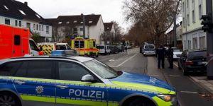 Almanya'daki bomba ihbarı asılsız çıktı