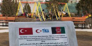 TİKA'dan Afganistan'a oyun parkı