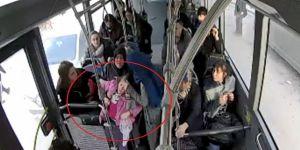 Bayılan çocuk için halk otobüsünü hastaneye sürdü