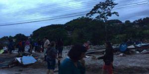 Baraj kapaklarının açılması sele neden oldu