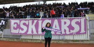 Taraftarlardan Serap Çakır'a destek