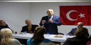 Yenimahalle Belediye Başkanı Yaşar site sakinleriyle buluştu