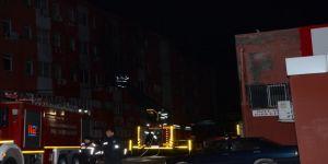 Balıkesir'de hastanede yangın paniği