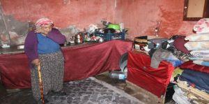 Harabe evde yaşam mücadelesi