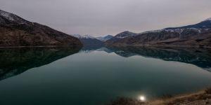 Tortum Gölü manzarasıyla büyülüyor