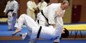 Putin, judo yaptı
