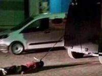 PKK'lının cesedi neden sürüklendi?