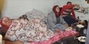 Engelli ailenin zorlu yaşam mücadelesi