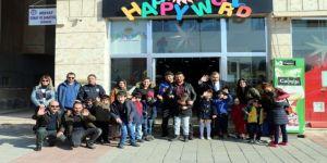 Güvenlik güçleri engelli çocuklarla buluştu