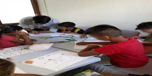 Çalıştırılmaya zorlanan çocuklar bu merkezde güvende