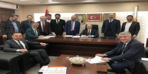 MHP İl Başkanı Serkan Tok, AK Parti İl Başkanlığında