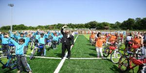 Kartepe'de 2018 yılında 5 bin 100 bisiklet dağıtıldı