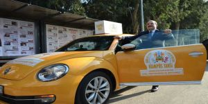 Varank, 'kampüs taksi' şoförü oldu