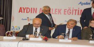 Meslek eğitimine katkı protokolü imzalandı