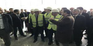Bakan Mehmet Cahit Turhan, Yeni Tren Garı ve Lojistik Merkezi'ni inceledi