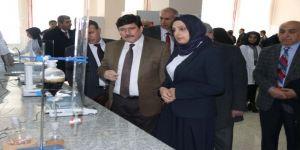 Bitlis Eren Üniversitesi'nde yeni bir laboratuvar açıldı