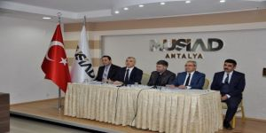MÜSAİD üyelerini bilgilendirme toplantısı düzenlendi