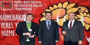 Çorlu Belediyesinin kitap ve belgesel projelerine ödül