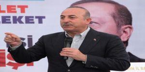 """Çavuşoğlu: """"Akdeniz'de Türkiyesiz hiçbir faaliyet yapılamaz"""""""