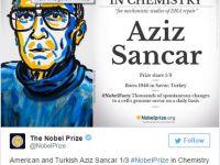 2015 Nobel Kimya Ödülünü Türk Bilim İnsanı Aldı