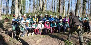 Ormanya' çocukları doğayla buluşturuyor