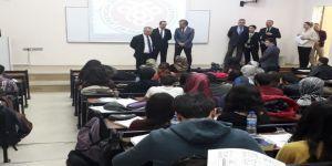Rektör Levent'ten Tıp Fakültesi öğrencilerine ziyaret